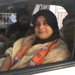Fatima Rasool Siddiqui is BJP's lone Muslim candidate in the MP Assembly polls.