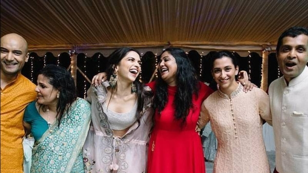 Check Out This New Pic of Deepika From Her Pre-Wedding Festivities