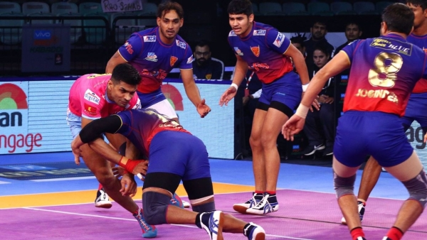 Pink Panthers never recovered from a slow start and just couldn't handle the intensity of Delhi's performance.