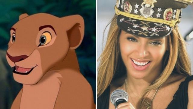 Beyonce as Nala