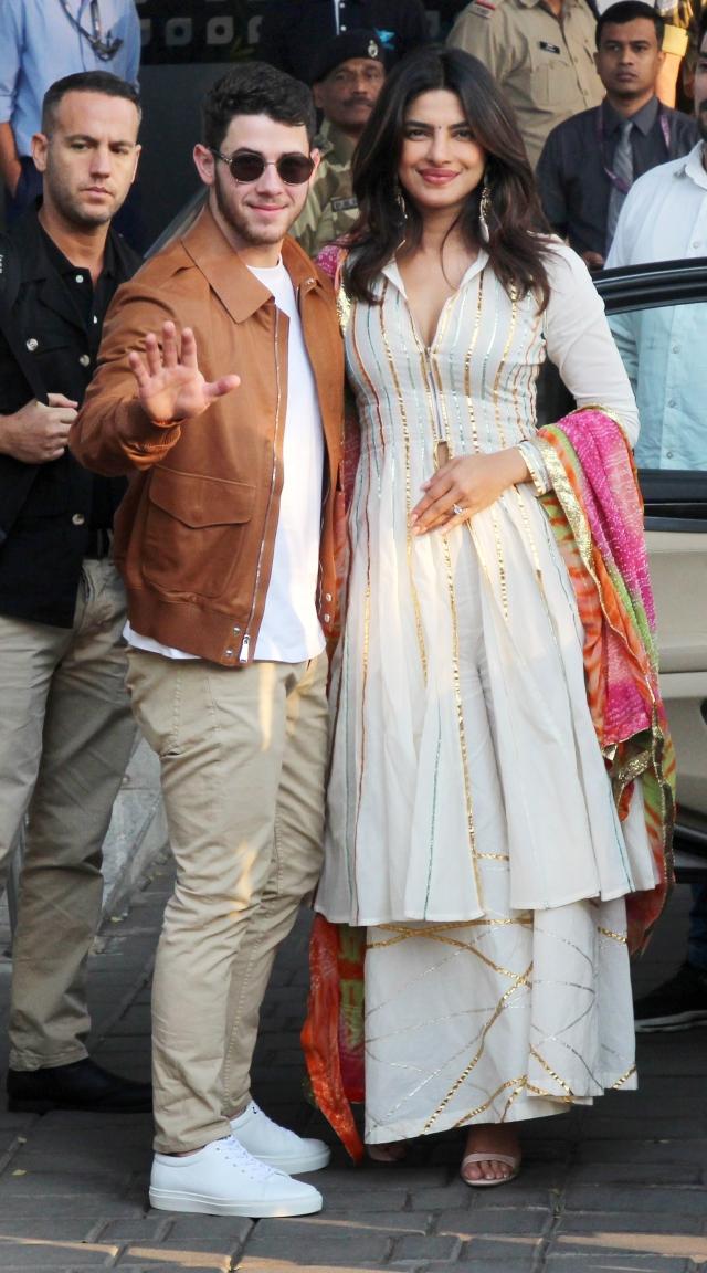 Nick and Priyanka are reportedly flying off to Jodhpur.