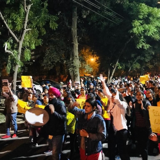 """""""The authorities completely ignored our demands in the first week of the protest,"""" a PU student says."""