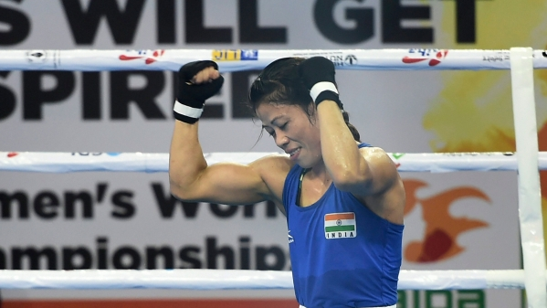 Mary Kom along with three other boxers will be competing in the semi-finals of the World Boxing Championships.