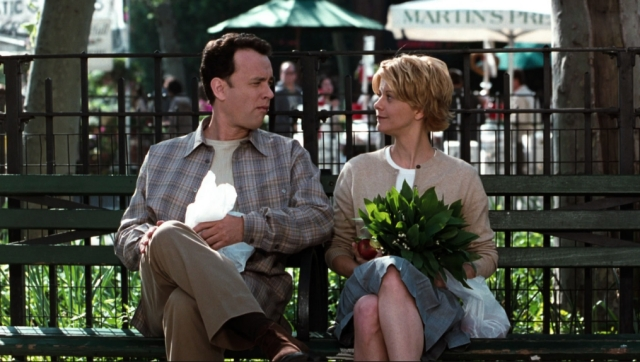 A screenshot from<i> You've Got Mail</i>.