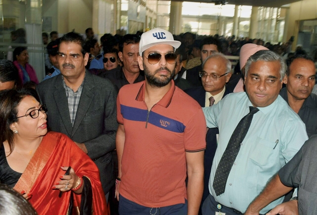Yuvraj Singh has been released by Kings XI Punjab after just one season with the franchise.