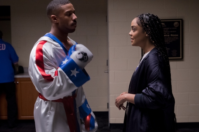 Tessa Thompson's Bianca has excellent chemistry with Jordan's character but lacks an inner life.