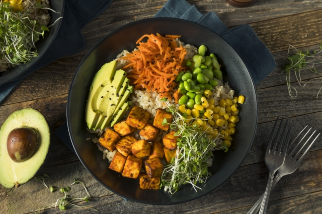 You will need six things for a Buddha Bowl.