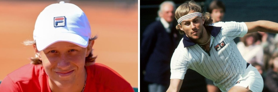 5262a9c43470 Leo Looks to Follow Father Bjorn Borg Into Professional Tennis - The ...