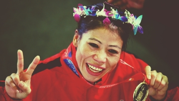 Mary Kom turned 36 a day before she attacked the sixth world title.