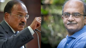 According to a note tweeted by Prashant Bhushan, Ajit Doval illegally negotiated with France about Rafale Deal.