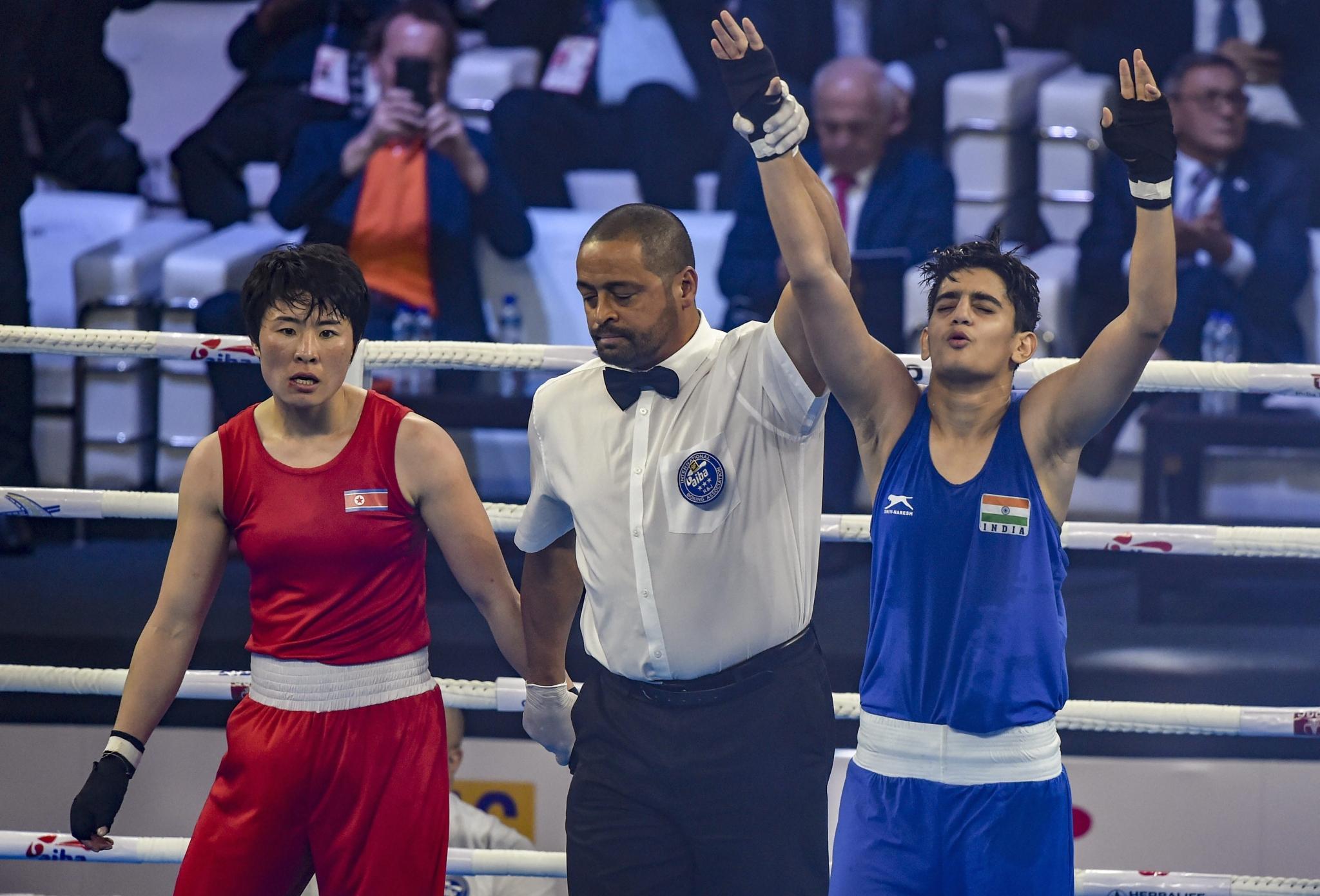 Boxer Sonia enters World Championship final; Simranjit settles for bronze