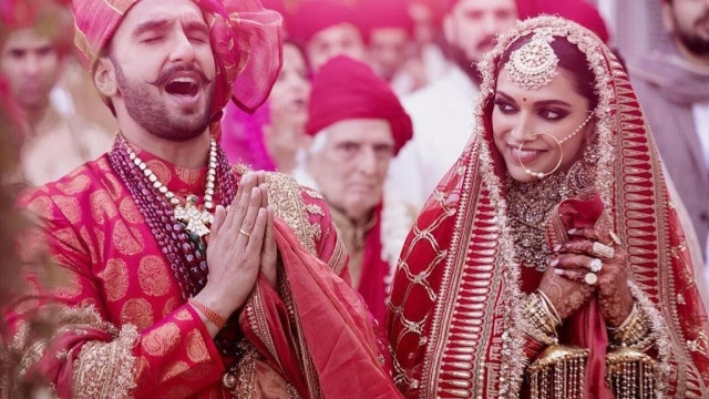 Ranveer and Deepika are caught in a candid moment.