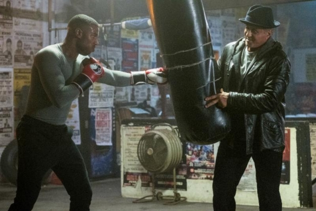 Adonis Creed (Michael B Jordan) trains for his big fight.