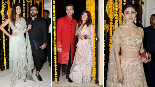 Ekta Kapoor's Diwali bash was attended by Bollywood and television industry celebs.