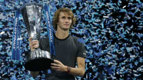 Alexander Zverev becomes the youngest champion at the ATP Finals since 2008