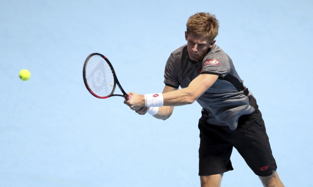 On his maiden ATP Finals appearance, Kevin Anderson becomes the first South African to reach the last-4 in London