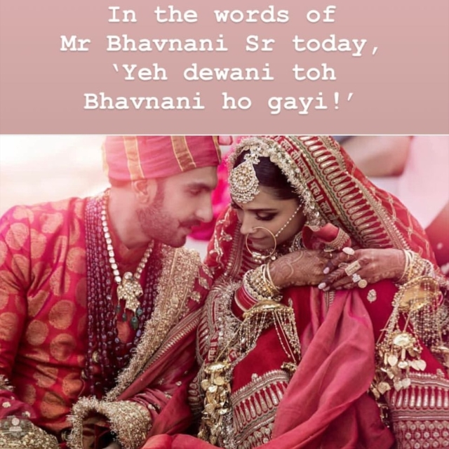 What Bhavnani Sr. had to say about Deepika Padukone.