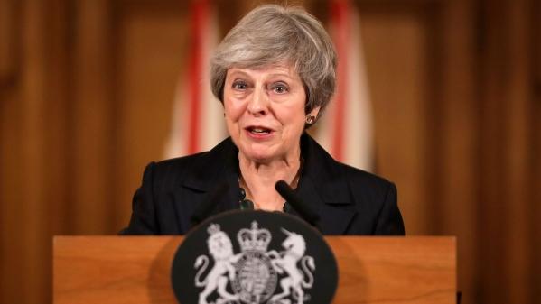 File image of British Prime Minister Theresa May.