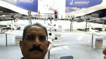 Dassault India Representative Venkata Rao Posina.