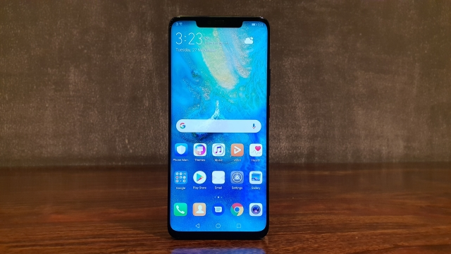 The Huawei Mate 20 Pro comes with a QHD+ display.