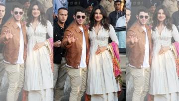 Priyanka Chopra and Nick Jonas begin their four day wedding celebration.