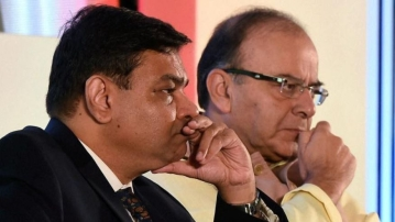 File image of RBI Governor Urjit Patel and Finance Minister Arun Jaitley.