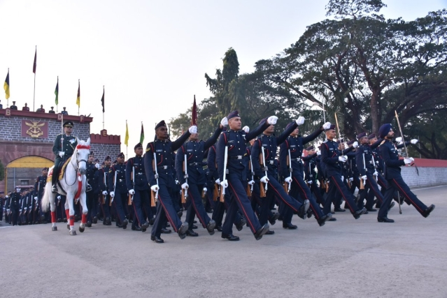 261 cadets graduated from the National Defence Academy, Pune on Friday, 30 November.