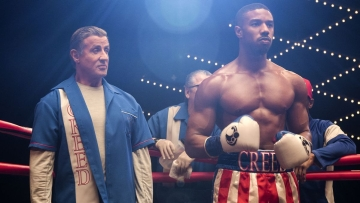 Sylvester Stallone and Michael B Jordan co-star in <i>Creed 2</i>.