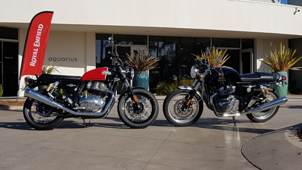 The Royal Enfield Interceptor 650 and Continental GT 650 are available in India from 14 November.