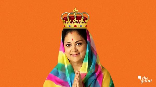 Image of Rajasthan CM Vasundhara Raje used for representational purposes.