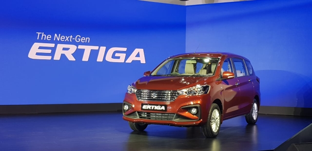 The new Ertiga comes with the same 1.3-litre diesel engine as before.