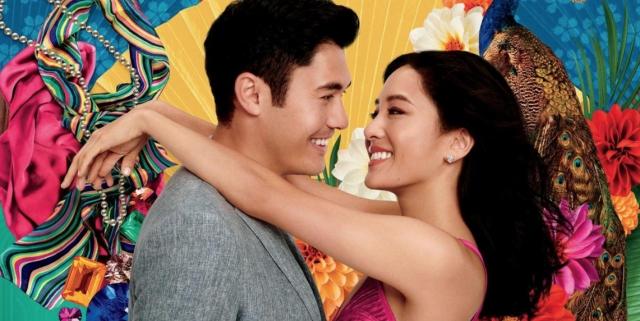 The cast of <i>Crazy Rich Asians</i>.