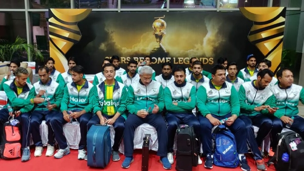 Pakistan Team Arrives In India For Hockey World Cup 2018