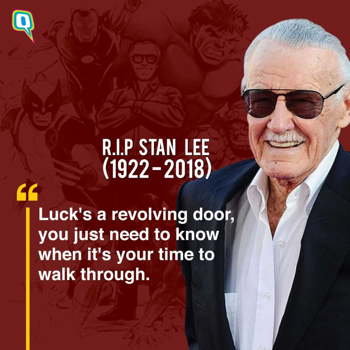 Stan Lee Inspirational Quotes: Best From the Godfather of Marvel Comics