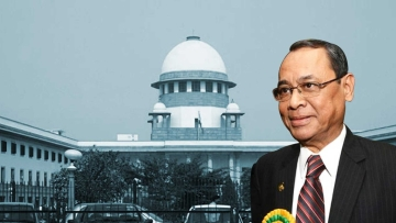 Justice Ranjan Gogoi was sworn in as the 46th Chief Justice of India on 3 October 2018.