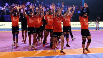 With the win, U Mumba pocketed five points and moved to the top of Zone A with 39 points from nine matches.
