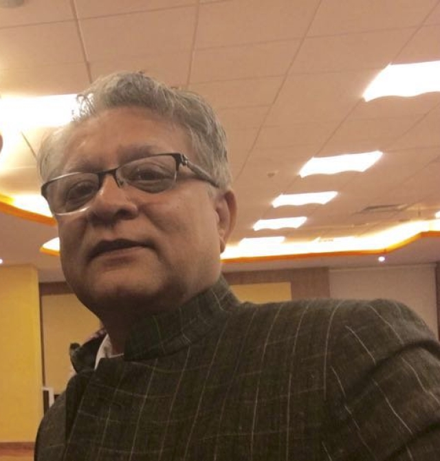 Photo of Amar Sinha, the former secretary in the External Affairs Ministry.