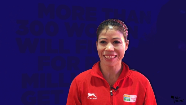 Mary Kom speaks to <b>The Quint</b>.