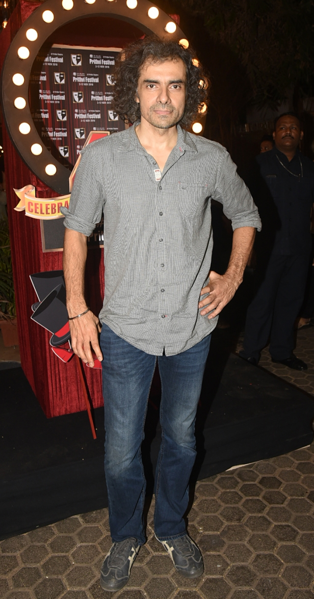 Imtiaz Ali spotted at the venue.