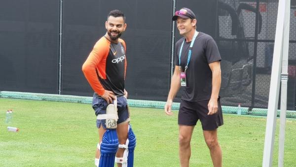 In Pics: Adam Gilchrist Visits Virat & Co Ahead of Australia T20I