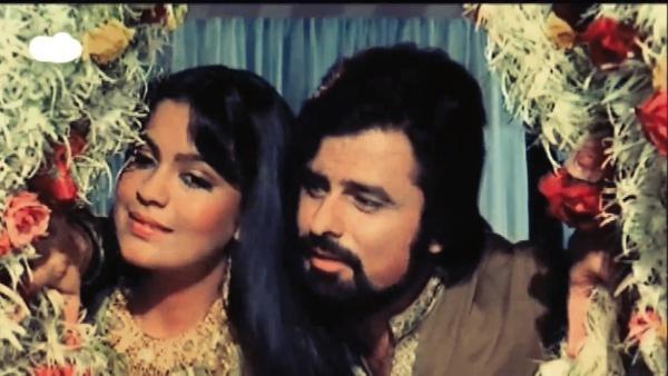 Sanjay Khan and Zeenat Aman in <i>Abdullah.</i>
