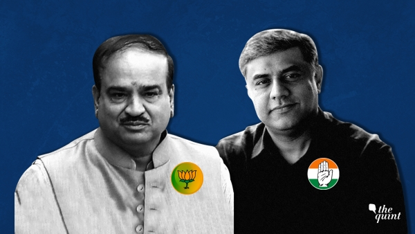 Image comprising Late Ananth Kumar (L) and Rajeev Gowda (R) used for representational purposes.