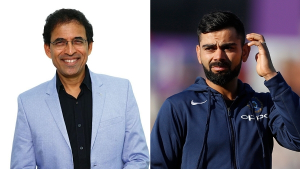 Harsha Bhogle has the best and most fitting reply to Virat Kohli's comment.