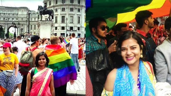 Always the Outsider at London Pride, Delhi Made Me Feel at Home