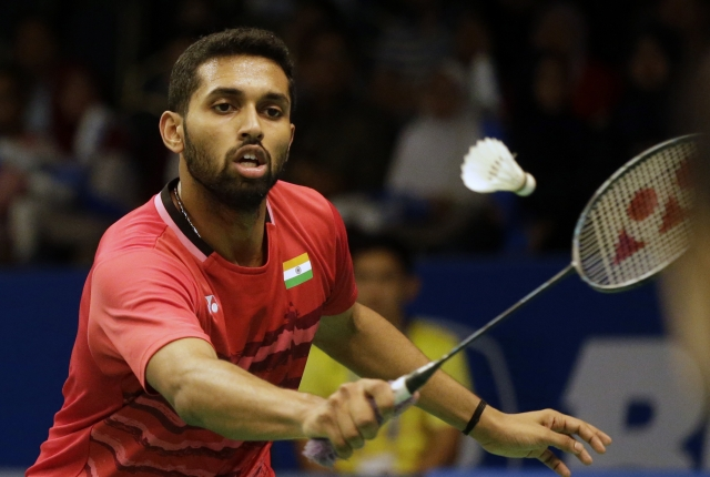 File photo of HS Prannoy.