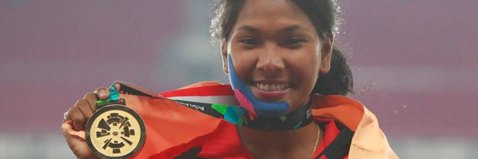 Image result for Swapna Receives Customised Shoes From Adidas For Her 12-Toed Feet