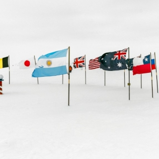 """There are 30 <a href=""""https://comnap.aq/Members/Shared%20Documents/COMNAP_Antarctic_Station_Catalogue.pdf"""">countries</a> – including Australia – operating bases and ships, and flying aircraft to and from runways across the continent."""