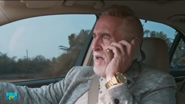 Tom Alter plays Russian drug lord Moshe Barak in <i>Smoke</i>.