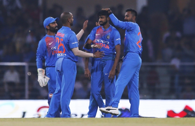 Khaleel Ahmed removed Shai Hope and Shimron Hetmyer during India's second T20I against West Indies at Lucknow.
