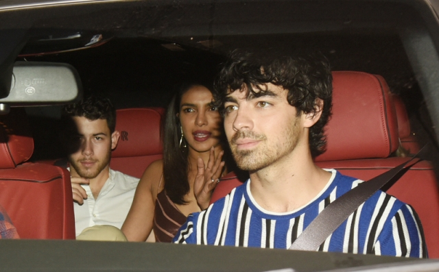 And the Jonas brothers have arrived in the city!